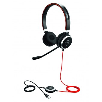Casca Jabra Evolve 40 MS STEREO USB si Jack 3.5 mm, 6399-823-109